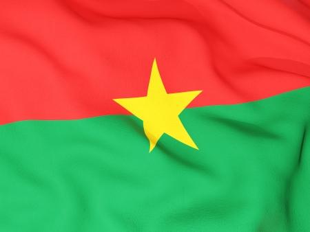 burkina faso: Flag of burkina faso Stock Photo