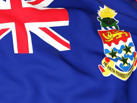 Flag of cayman islands Stock Photo - 18618310