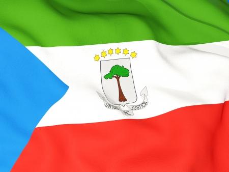 equatorial guinea: Flag of equatorial guinea