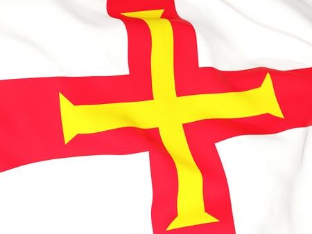 guernsey: Flag of guernsey