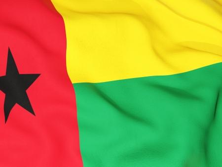 guinea bissau: Flag of guinea bissau