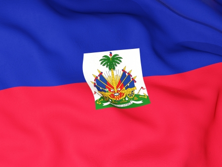 Flag of haiti photo