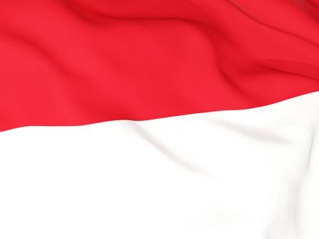Flag of monaco photo