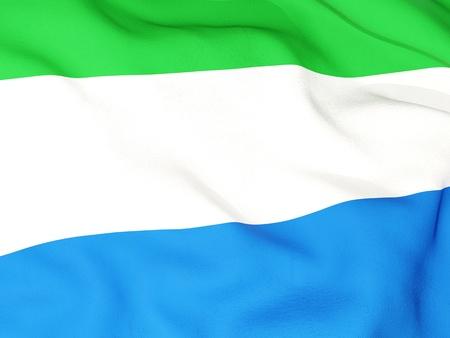 sierra: Flag of sierra leone
