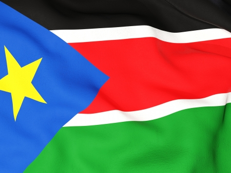 sudan: Flag of south sudan
