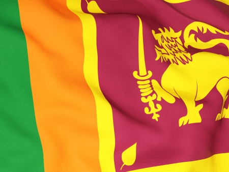 lanka: Flag of sri lanka