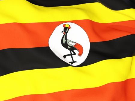 uganda: Flag of uganda