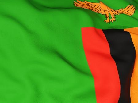 zambia: Flag of zambia