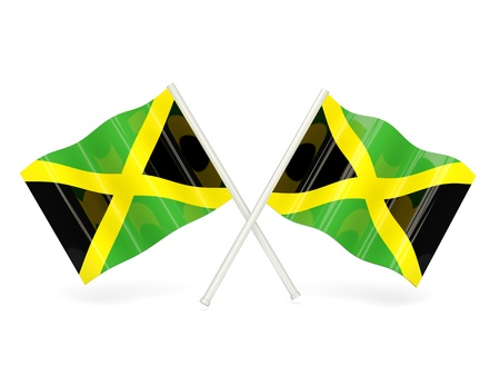 Flag of jamaica photo