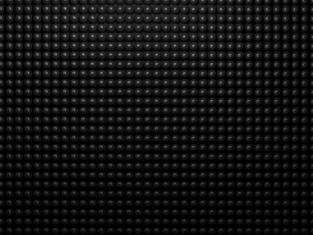 metall texture: Black abstract metall background with dots texture