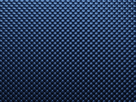 Blue abstract metal background with semicircle texture photo