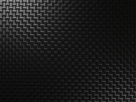 正方形の要素を持つ黒い金属背景