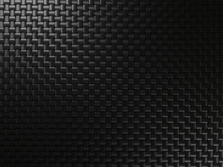 Black metal background with square elements Stock Photo