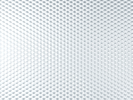 hexagone: White metal background with hexagone elements
