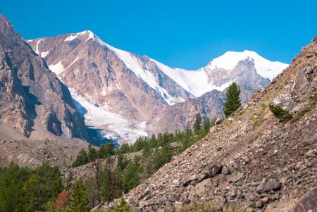 aktru: At the foothills of Aktru glacier, Altay mountains