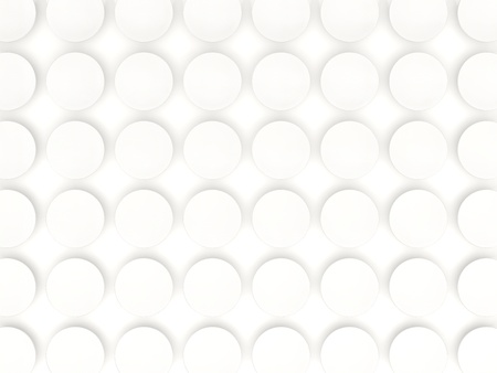 metal mesh: White background with industrial pattern. 3D illustration
