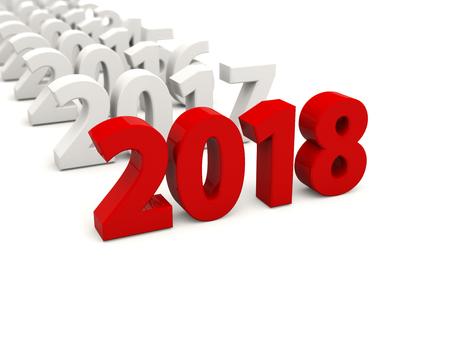 New Year Symbols 2018