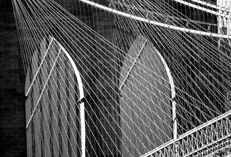 Brooklyn Bridge New York Reklamní fotografie - 5040641