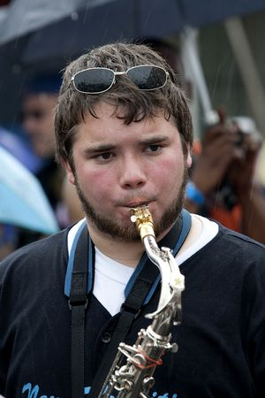 saxophoneist  photo