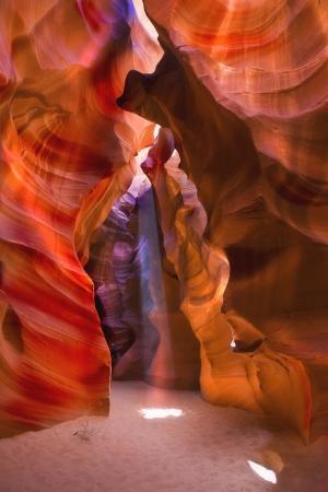 slot canyon: Antelope Canyon Stock Photo