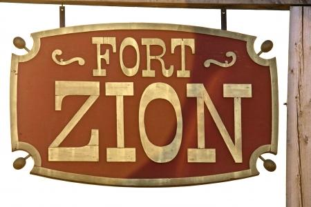 Teken van Fort Zion