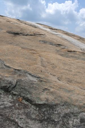 La superficie de la Casa de la Monta�a. Atlanta, Georgia Foto de archivo - 15560571