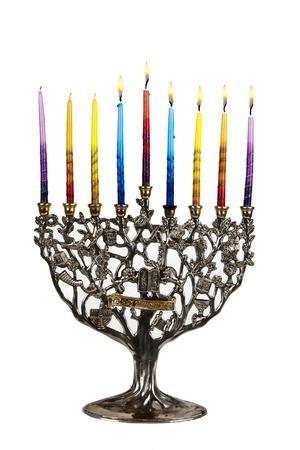 orison: Chanukah Menorah  Fifth day of Chanukah  XXL