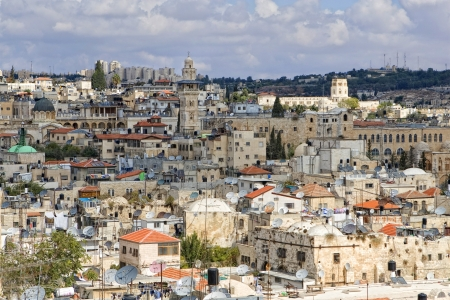 jewish houses: Old city of Jerusalem