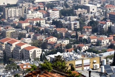 Panoramic of Haifa . Israel Stock Photo - 15580185