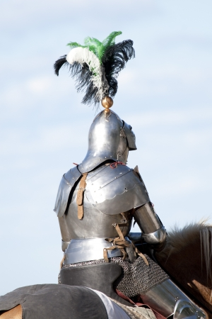 Medieval Knight on Horse photo