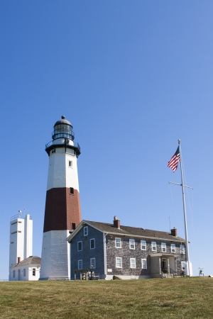 Lighthouse at Montauk Point. Long Island. NewYork photo