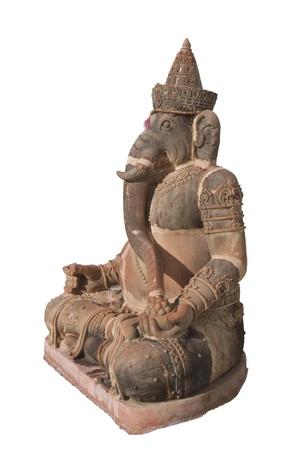 indian animal: Ganesha. Indian God of success and prosperity.  Stock Photo