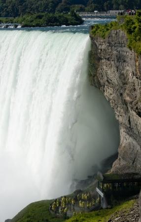 horseshoe falls:  Niagara  Journey Behind The Falls