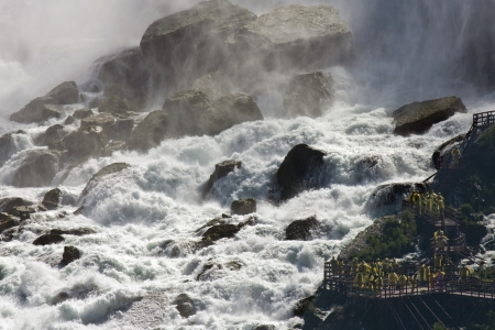 Niagara  Journey Behind The Falls Stock Photo - 15712277