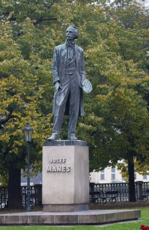 czech culture: Josef Manes - Famous Czech Painter
