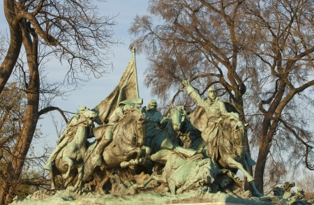 cavalry: Cavalry group of Grant Memorial, USA