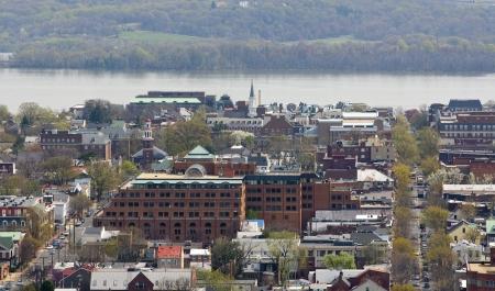 Vista de Alexandria, Virginia, cerca de Washington DC