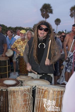 drumming: Man Drumming