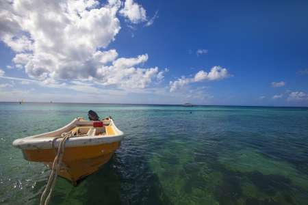 fibreglass: Rowing boat