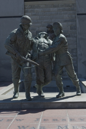 Korean War Memorial in Atlantic City, New Jersey