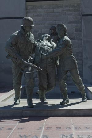 Korean War Memorial in Atlantic City, New Jersey