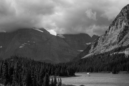 hydrology: Waterton-Glacier international peace park