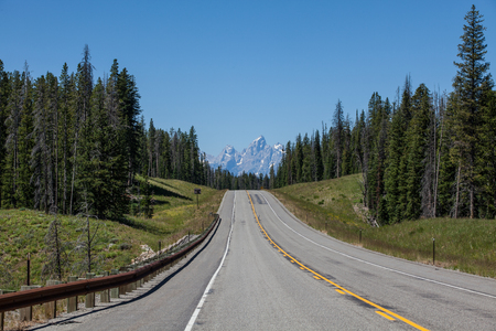 bridger: Road Along Teton National Park