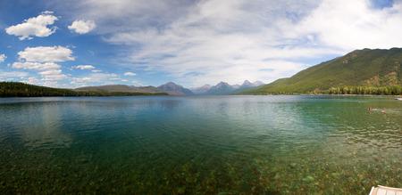 glacier national park: St. Mary lake in Glacier National Park.