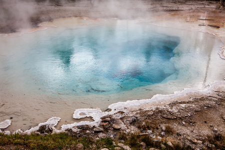 fervor: Fountain Paint Pot in Yellowstone National Park