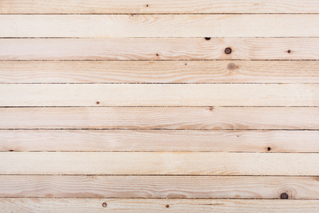 Wooden wall made of untreated planks, textured background image   Standard-Bild