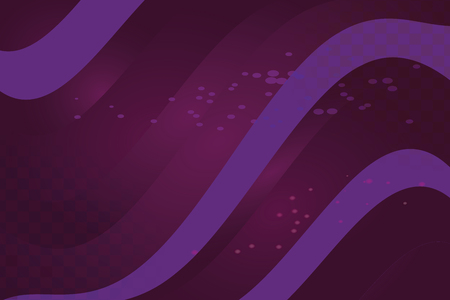 Violet abstract illustration striped divorces with space flight Purple vector background. The pattern can be used for aqua ad, booklets.