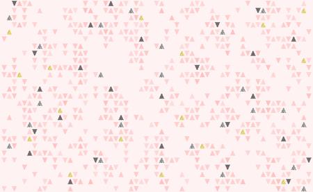 Many christmas herringbone with fujiyama, background neo japanese style. Geometric color pattern with Christmas tree vector illustration.