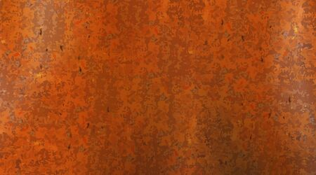 Rusty and metal texture background. Realistic russet sample, template.