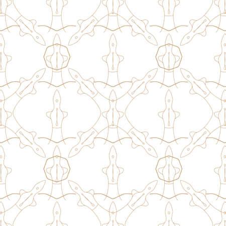 Seamless pattern. Sensual line minimal design.